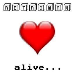 Retroman - Alive... - CD Cover
