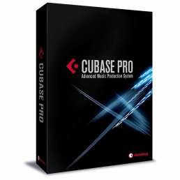 Homestudio Software - Bild einer Cubase Pro Box