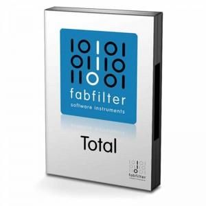Homestudio Software - Bild einer Fabfilter Total Bundle Box