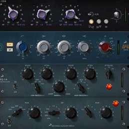 Audio-Interface - Bild von mehreren DSP-Effekplugins