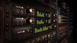 Audio-Interface - Bild mehrerer UA Audio-Interfaces