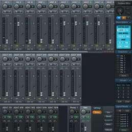 Bild eines internen Mixers bei einem Audio-Interface
