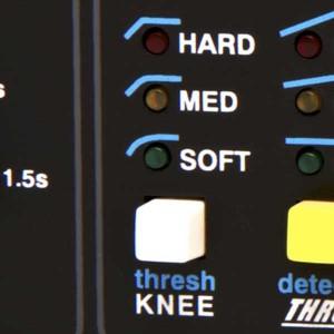 Der Audio-Kompressor - Knee-Charakteristik