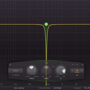 Der Equalizer (EQ) - Notchfilter