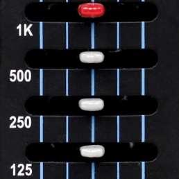 Der Equalizer (EQ) - Grafischer Equalizer - Frequenzeinteilung