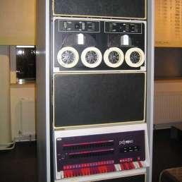 Geschichte der Musikproduktion - Bild des ersten Digital-Editing-Systems