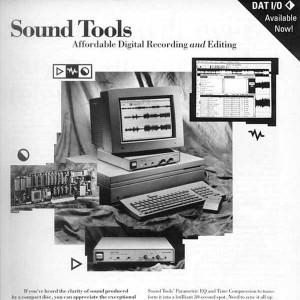 Geschichte der Musikproduktion - Sound Tools - Editing Programm