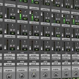 Geschichte der Musikproduktion - Ausschnitt der Pro Tools Benutzeroberfläche
