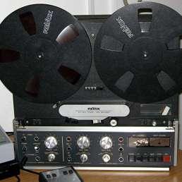 Geschichte der Musikproduktion - Revox-B77 Tonbandgerät