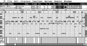 Homestudio Software - Benutzeroberfläche einer alten Cubase Version