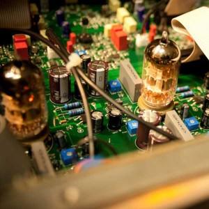 Der Mikrofon-Preamp (Vorverstärker) - Bild eines Verstärkerelementes