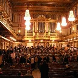 Raumakustik - Bild des Inneren eines Konzerthauses