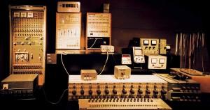 Vier Hauptdisziplinen der Musikproduktion - bild von altem Recording Equipment