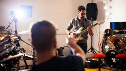 Vorproduktion (Pre-Production) - Songwriting Session im Studio