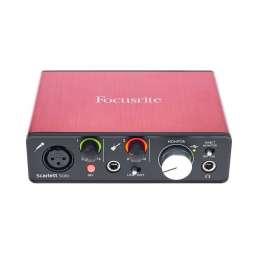 Die besten Audio-Interfaces für Einsteiger unter 150€ - Focusrite Scarlett Solo 2nd Gen