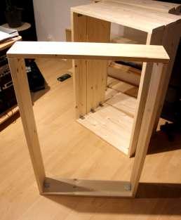 DIY Schallabsorber - Fertiger Rahmen