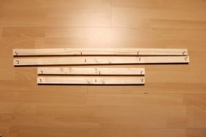 DIY Schallabsorber - Holzlatten vorbereiten