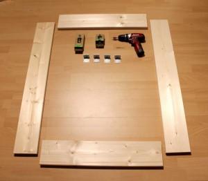 DIY Schallabsorber - Vorbereitung Rahmen