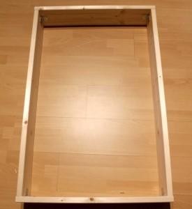 DIY Schallabsorber - Rahmen mit Winkel