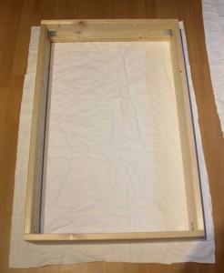 DIY Schallabsorber - Stoff zuschneiden