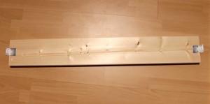 DIY Schallabsorber - Vorbereitung Rahmen - Winkel anbringen