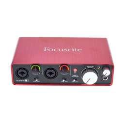 Die besten Audio-Interfaces für Einsteiger unter 150€ - Focusrite Scarlett 2i2 2nd Gen